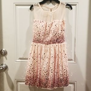 Darling pink sparkly party dress!